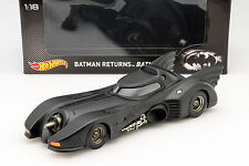 Batmobile aus dem Film Batman Returns 1992 schwarz 1:18 HotWheels