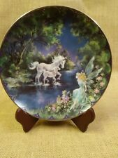 """""""Dazzling Beginnings"""" plate by Mimi Jobe - 8th issue in """"Fairyland"""""""