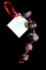 Witches Horse Chestnut Charm yule Decoration Pagan Wiccan Gift Talisman Success