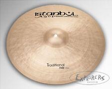 "Istanbul Agop 20"" Traditional Thin Crash Cymbal"
