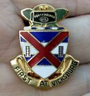 WWII US ARMY 13th Infantry Regiment Clutchback DI DUI