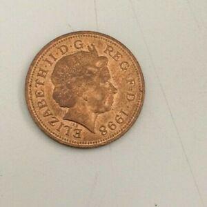 British UK 1998 Queen Elizabeth II Two Pence Coin