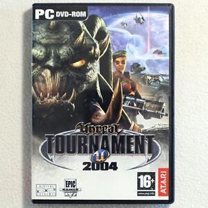Unreal Tournament 2004 - PC DVD-ROM + Manual - Atari / Epic Games