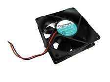 New! Sunon KD1208PTB1-6 12V 2.6W 2-Wire DC Brushless Box Fan 80x25mm 39.5CFM