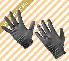 100 pc Pk Black Disposable Mechanic latex Gloves Nitrile Gloves Tattoo Glove