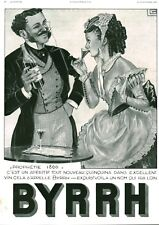 Publicité ancienne Byrrh un nom qui ira loin 1936 issue magazine