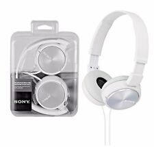 Sony MDR-ZX310 Stereo Monitor Over-Head Headband Headphones - White DJ Style