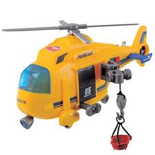 Elicottero SOS Giocattolo per Bambini con Luci Suoni Barella e Montacarichi