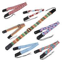 Adjustable Ukulele Shoulder Strap 4-strings Hawaii Guitar Playing Belt