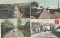 CIRCUIT DE LA SEINE INFERIEURE 1908 France 30 Vintage Car Racing postcards