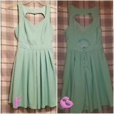 charlotte russe dress size medium heart shape opening in back