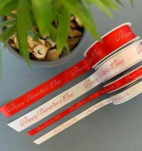 Red Confetti Glitter Ribbon Extra wide  New Christmas Valentines Crafts sewing