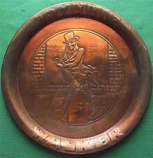 c1900 Art Nouveau Arts & Crafts Copper Johnnie Walker Whisky Tray B