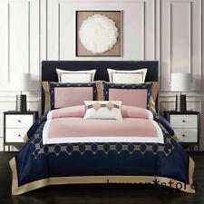 Bedding Set 4pcs Australia Cotton Embroidered Quilt Cover Flat Sheet Pillowcases