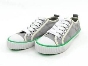 O'Neill Sneaker Schuhe Kitty grau meliert weiß Canvas Schriftzug NEU