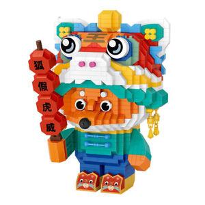 LOZ MINI Blocks Kids Building Toys Girls Teens Fox Puzzle 9266 no box
