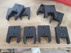 (10 Pack) CNC MACHINED Milwaukee M18 Tool Holders/Hangers/Mounts. NOT 3D PRINTED