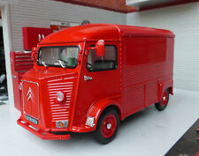 1:24 Citroen H Type Van Scale Diecast Detailed Model 1947-1981 Red Welly G LGB