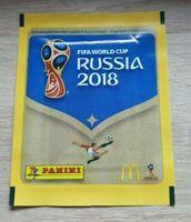 Panini WM 2018 1 McDonalds Tüte Russland WC 18 Bustina Pochette Packet World Cup