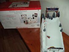 SNOWBOARDERS MR CHRISTMAS WINTER WONDERLAND HALF PIPE ACTION