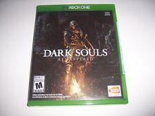 Original Box Case Replacement Microsoft Xbox One XB1 Dark Souls Remastered
