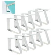 20× Tischtuch Klammern Tischdeckenklammer Tischtuchhalter Halter zONwl eNw Neue