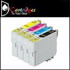 Premium Compatible T133 Inkjet 4 Cartridge Set For Epson Printers