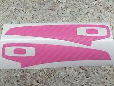 Oakley Batwolf - Pink Carbon Fiber Vinyl Skin Wrap