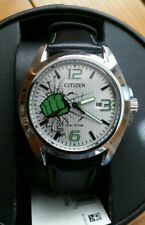 Citizen Eco-Drive Mens MARVEL Hulk Stainless Steel Watch AW1431-24W