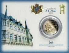 Luxemburg 2 euro 2012 coincard **sterfdag H.Guillaume IV **