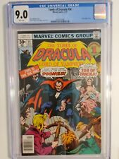 TOMB OF DRACULA #54 (CGC 9.0) 1977 BLADE APPEARANCE; MARV WOLFMAN STORY