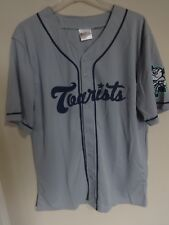 2017 MiLB Asheville Tourists SGA Button Front Baseball Jersey Men XL Rockies