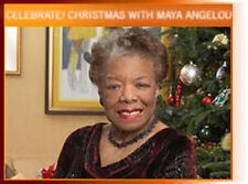 CELEBRATE: MAYA ANGELOU CHRISTMAS Rare DVD 2005 ~ Hallmark, ASHFORD & SIMPSON