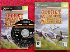 SECRET WEAPONS OVER NORMANDY ORIGINAL RELEASE  MICROSOFT XBOX 12+ PAL