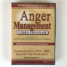 Anger Management Video Program DVD Practical Therapist Instructional Guide NEW