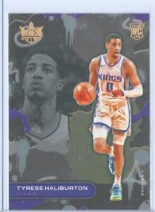 2020-21 Panini Court Kings * TYRESE HALIBURTON RC ROOKIE CARD TIER 2  #129