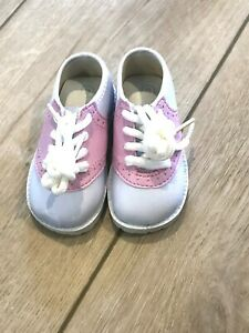 NEW Infant Baby Toddler and Child Pitter Patter 50's Saddle Oxford Shoes