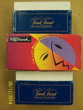 NogginNosh Game and Trivial Pursuit Cards