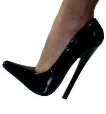 Erogance Lack Extrem High Heels Pumps Gr. 45 NEU 3309 Schwarz