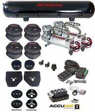 VU4 Manifold Chrome 480 Air Compressors Bags 1963-1972 Chevy C10 Black 9 Switch