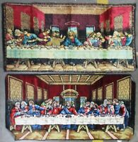Vintage Tapestry Wall Hangings Rugs Last Supper Theme Italy And Lebanon (AD)