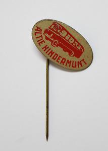 PIN de Alfiler Insignia Chapa ACTIE KINDERMUNT Estudiantes Paises Bajos  c.1970