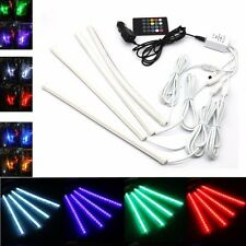 12V Car Interior RGB 30 LED Strip Light Wireless Music Control 7 Color Change UK