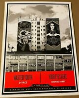 D*FACE Wasted Youth Shepard Fairey Your Eyes Here Fine Art Print Poster Obey