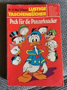 Walt Disney Lustiges Taschenbuch Nr. 19 Pech für die Panzerknacker