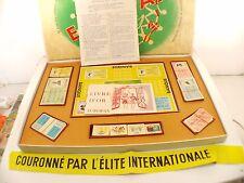 Jeu Europax Lehembre Mahé Jeu société pacifique 1957 complet boite ancien RARE