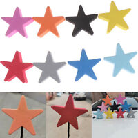 1Pc Colorful five-pointed star car antenna pen topper aerial EVA ball de SI