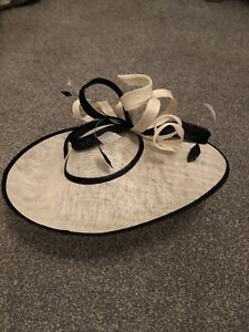 Womens Cream Jacques Vert wedding hat