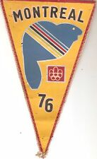 CANADA OLYMPIC 1976 Olympics Games MONTREAL PENNANT