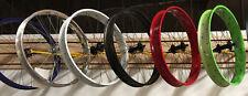 """Micargi 29""""x 4.0 Bicycle front Fat Disc Brake Wheel Black Red Green Polish White"""